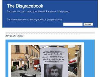 Disgracebook