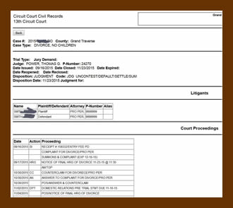 Updates in michigan family law family law news new online docket service link for the 13th circuit michigan trial courts solutioingenieria Gallery