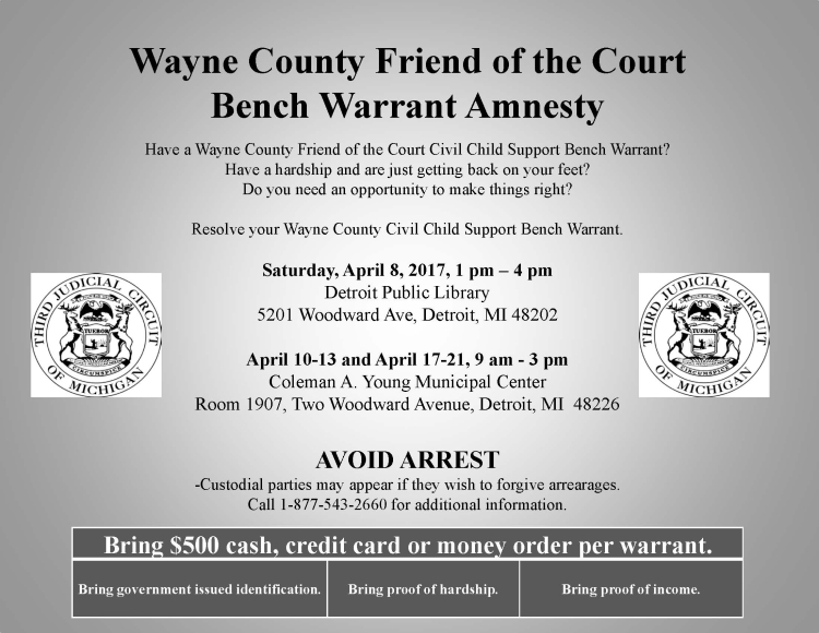 WayneAmnestyProgram April 2017